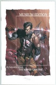 Punisher Kills The Marvel Universe German Museum Edition Dell'Otto Cover COA Panini Marvel comic